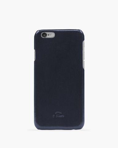 iPhone 6 Leder Cover Dunkelblau