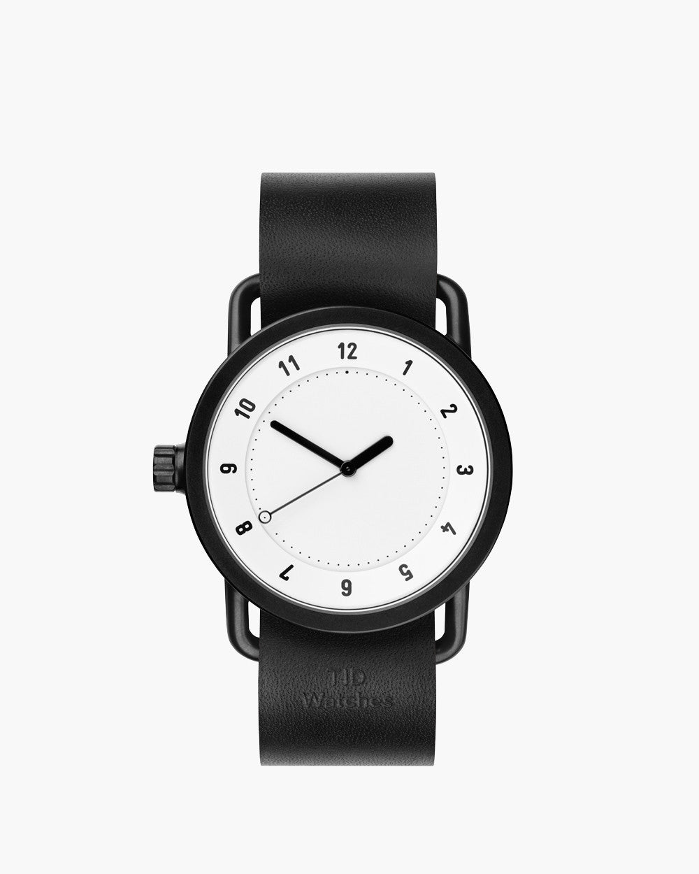 TID No. 1 White / Black Lederarmband von TID Watches 1