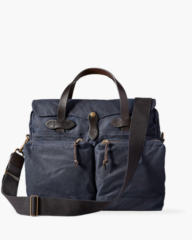 24 Hour Tin Briefcase Navy von Filson