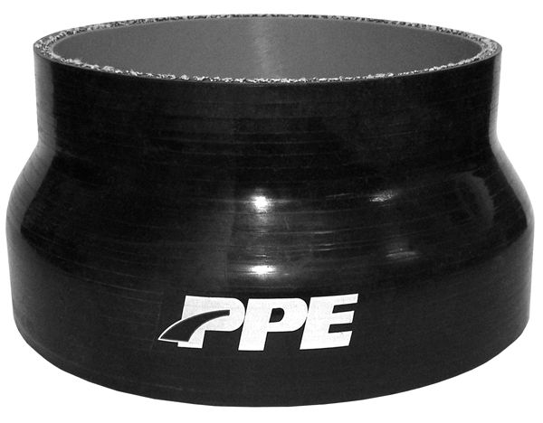 PPE Diesel | 5.0 Inch To 4.0 Inch X 3.0 Inch L 6MM 5-Ply Reducer | Exhaust Hardware