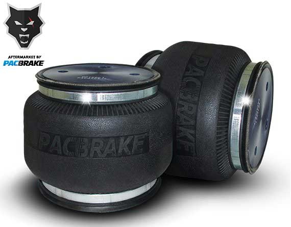 Pacbrake | Heavy Duty Single Convoluted Replacement Air Spring | Air Spring Kit