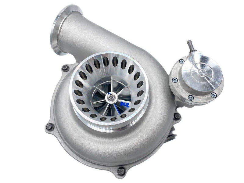 KC300x Stage 2 Turbo (63|73 .84) POLISHED | Ford Powerstroke 7.3L (1999-2003)