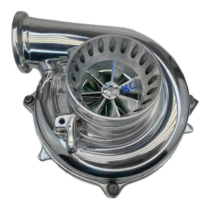 "KC300x Stage 1 Turbo (63|70 1.0 | 4"" Plastic CCV) POLISHED 