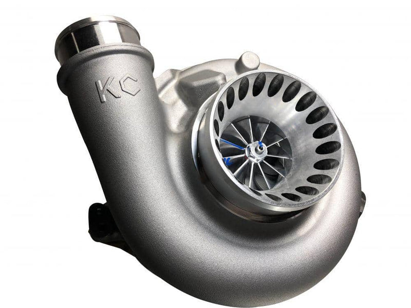 KC Stage 1 Turbo (10 Blade, Polished) | Ford Powerstroke 6.0L (2004-2007)