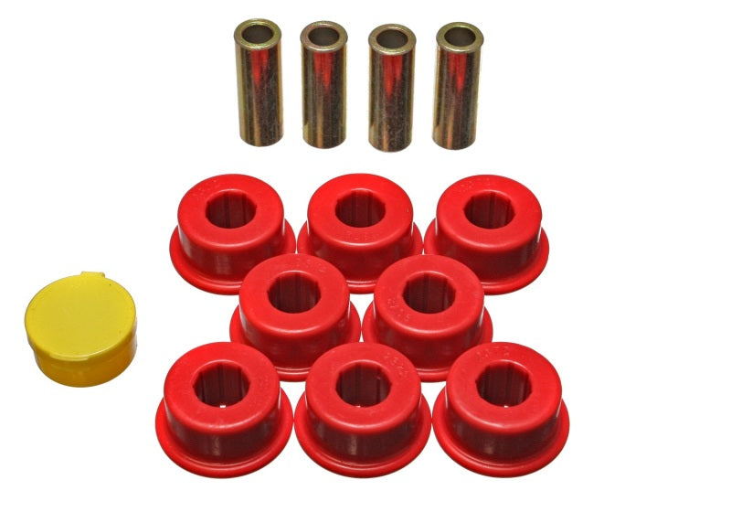 Energy Suspension 95-03 Toyota Avalon / 97-01 Camry / 99-03 Solara Red Rear Control Arm Bushing Set