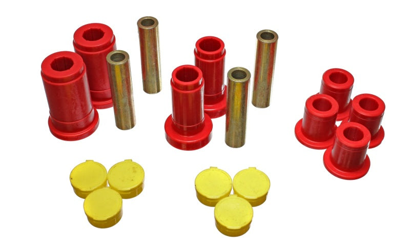Energy Suspension 02-05 Dodge Ram 1500 2WD Red Front Control Arm Bushing Set