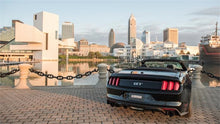 Load image into Gallery viewer, Corsa 15-16 Ford Mustang GT Convertible 5.0L V8 Black Xtreme Dual Rear Exit Exhaust