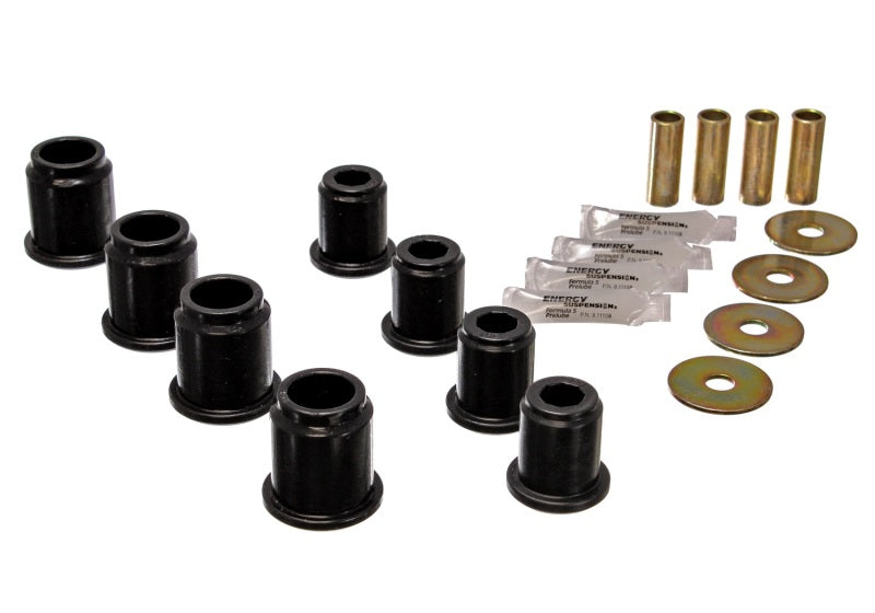 Energy Suspension 6/95-04 Toyota Pick Up 4W (Exc T-100/Tundra) Black Front Control Arm Bushing Set