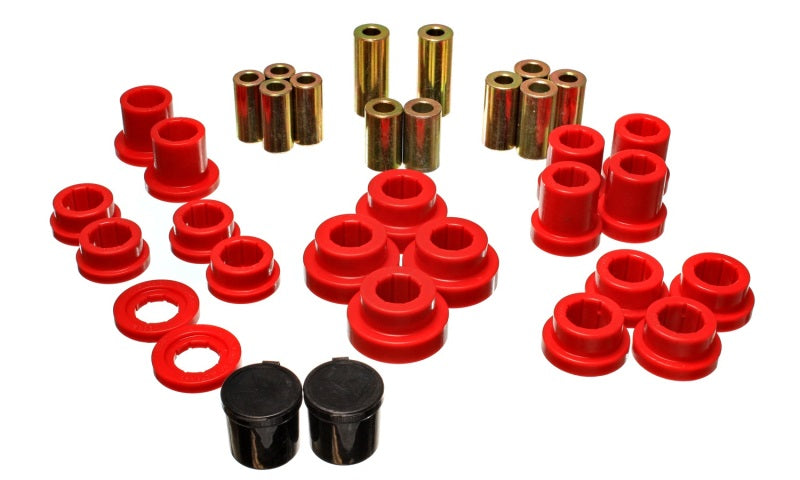 Energy Suspension 00-09 Honda S2000 Red Rear End Control Arm Bushing Set