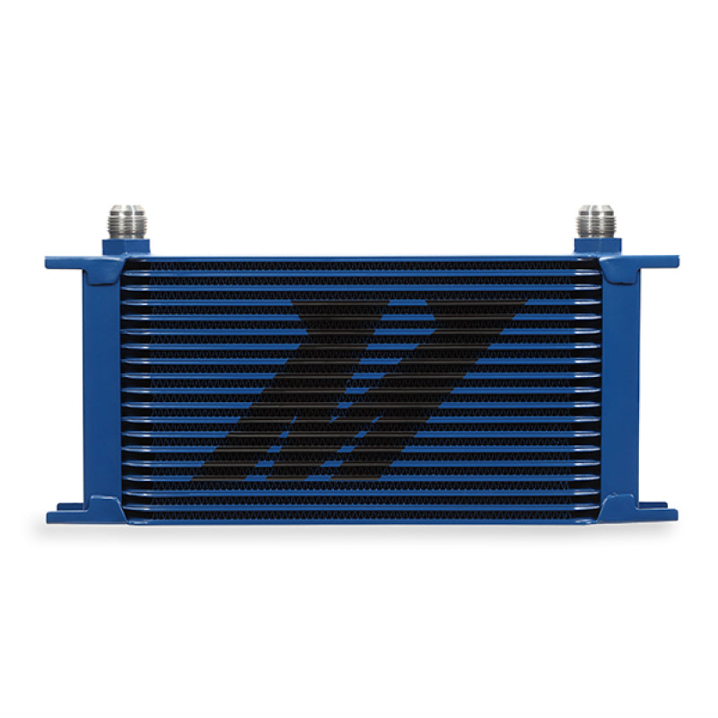 Mishimoto Universal 19 Row Oil Cooler - Blue