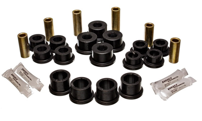 Energy Suspension 04-07 Mazda RX8 Black Rear Lateral/Trailing Arm Bushings