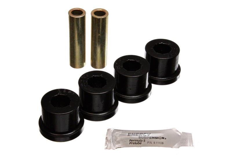 Energy Suspension 86-91 Mazda RX7 Black Rear Control Arm Bushing Set
