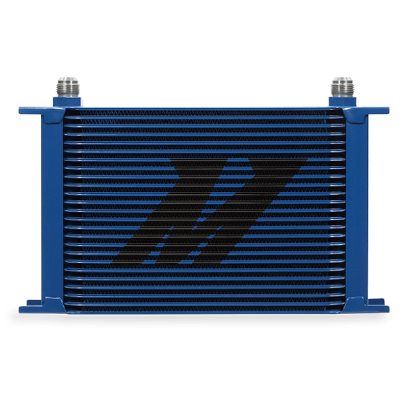 Mishimoto Universal 25 Row Oil Cooler - Blue