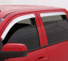 Load image into Gallery viewer, AVS 05-15 Toyota Tacoma Double Cab Ventvisor Front & Rear Window Deflectors 4pc - Chrome