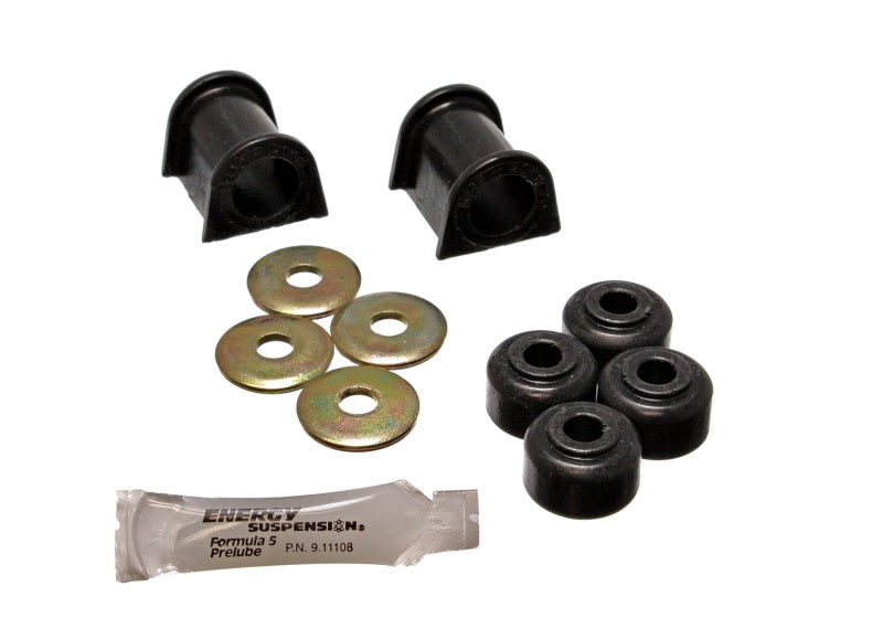 Energy Suspension 90-94 Mitsubishi Eclipse AWD Black 20mm Front Sway Bar Bushings (Sway bar end link