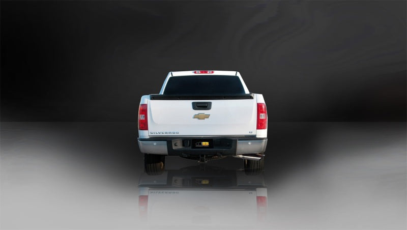 Corsa/dB 02-07 Chevrolet Silverado Ext. Cab/Short Bed 1500 4.8L V8 Polished Sport Cat-Back Exhaust