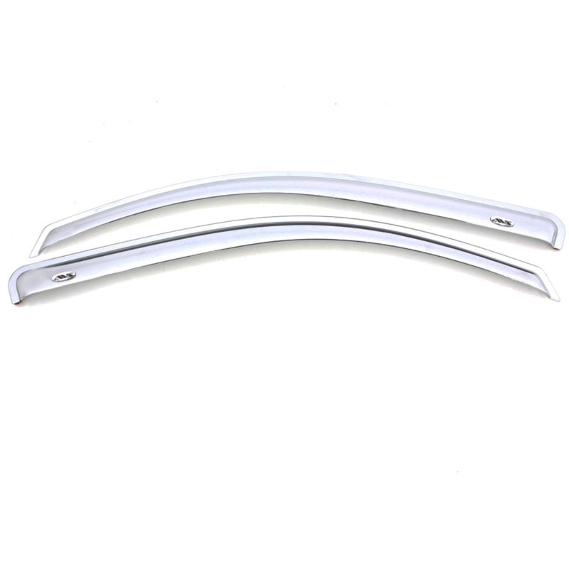 AVS 88-99 Chevy CK Standard Cab Outside Mount Front Window Ventvisor 2pc - Chrome