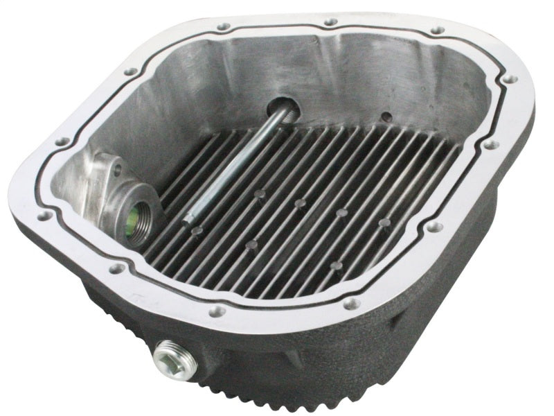 aFe Power Rear Diff Cover (Machined) 12 Bolt 9.75in 97-16 Ford F-150 w/ Gear Oil 6 QT