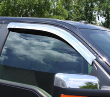 Load image into Gallery viewer, AVS 88-99 Chevy CK Standard Cab Outside Mount Front Window Ventvisor 2pc - Chrome