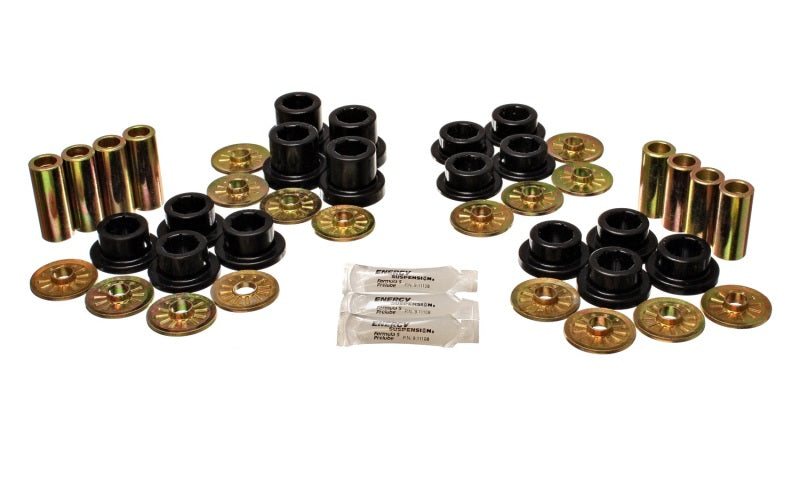 Energy Suspension 92-02 Dodge Viper Black Rear Control Arm Bushing Set
