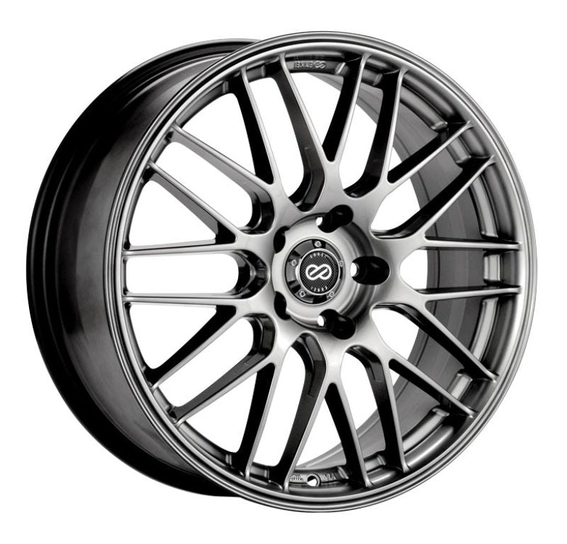 Enkei EKM3 17x7 5x114.3 38mm Offset 72.6 Bore Diameter Hyper Silver Wheel