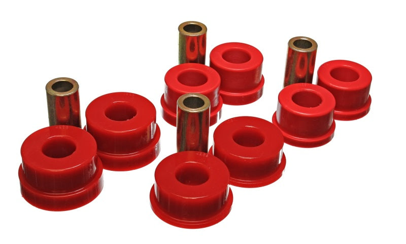 Energy Suspension 02-09 350Z / 03-07 Infinity G35 Red Rear Sub Frame Set