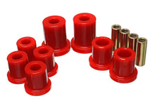 Load image into Gallery viewer, Energy Suspension 03-09 Lexus GX470 / 03-09 Toyota 4Runner 2WD/4WD Red Front Control Arm Bushing Set