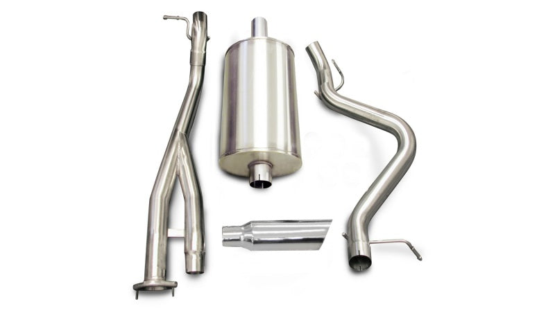 Corsa/dB 03-06 Chevrolet Silverado Short Bed SS 6.0L V8 Polished Sport Cat-Back Exhaust