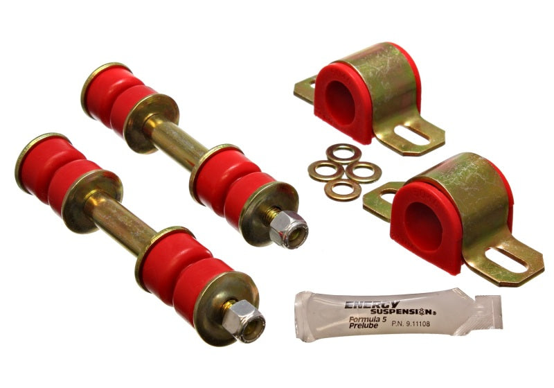Energy Suspension 89-94 Toyota Pickup 2WD (Exc T-100/Tundra) Red 23mm Front Sway Bar Bushing Set