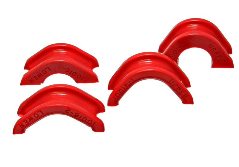 Energy Suspension 74-78 Nissan 260Z/280Z Red Rack and Pinion Bushing Set