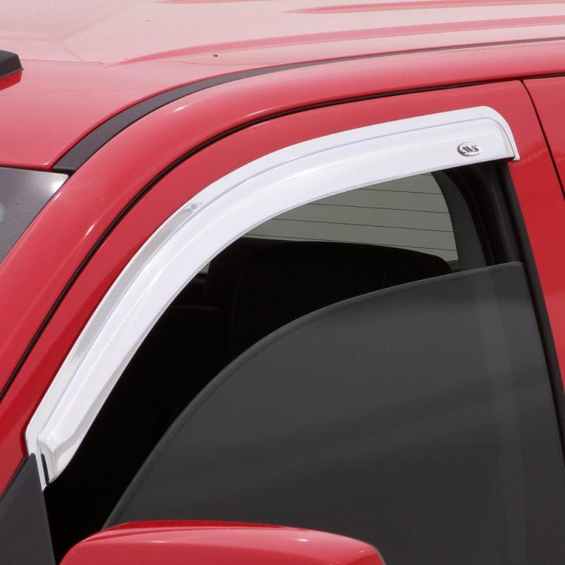 AVS 94-01 Dodge RAM 1500 (Excl. Towing Mirror) Outside Mount Front Window Ventvisor 2pc - Chrome