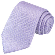 Mauve Checkered Tie - Tie, bowtie, pocket square  | Kissties