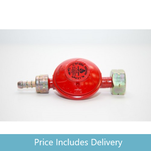 Low Pressure Propane Regulator for Propane (red) cylinders