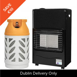 Superser Radiant Heater & Butane Gaslight Gas Refill Only 10kg (*Dublin Only)