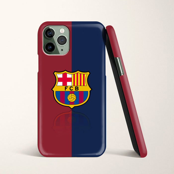 Red And Blue Fcb Fc Barcelona Logo Wallpaper Iphone 11 Pro Max Case Ca Casacases