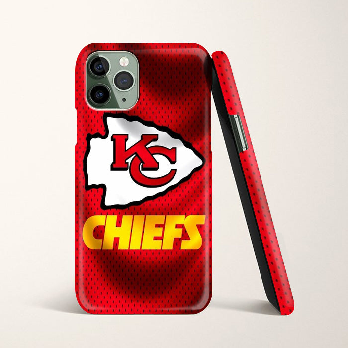 Kansas City Chiefs Jersey Texture Wallpaper Iphone 11 Pro Max Case C Casacases