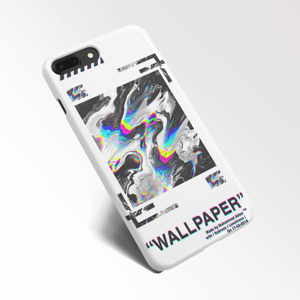 Off White Abstract White Aesthetics Wallpaper Iphone 7 Plus Case Cas Casacases
