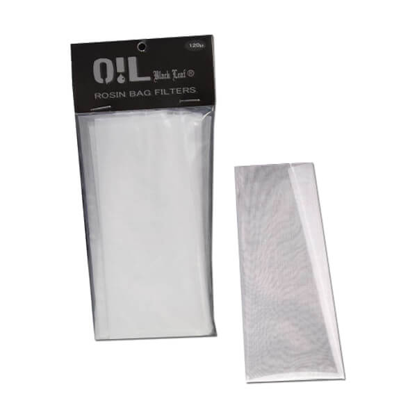 Oil Black Leaf 'Rosin Bag' Filter Bags 120µm
