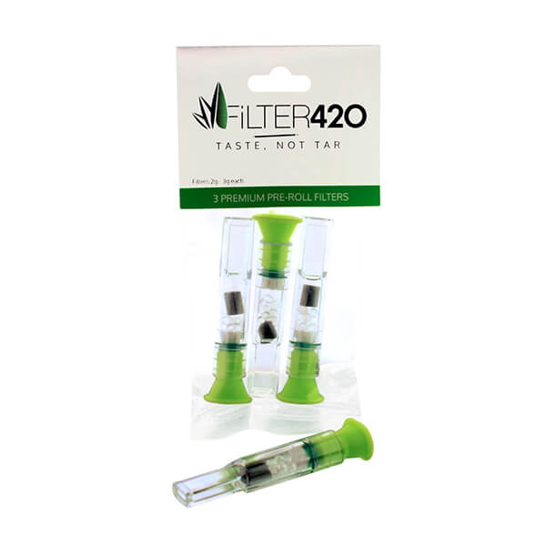 Premium Pre-roll Filters - 3 Pack
