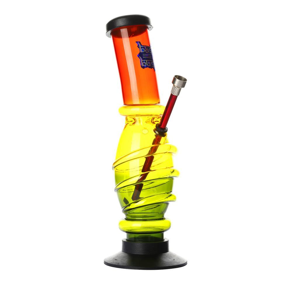 Acrylic Oval Grip Bong Rasta France