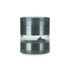 "Grinder en verre 2.2"" 4 Parties 