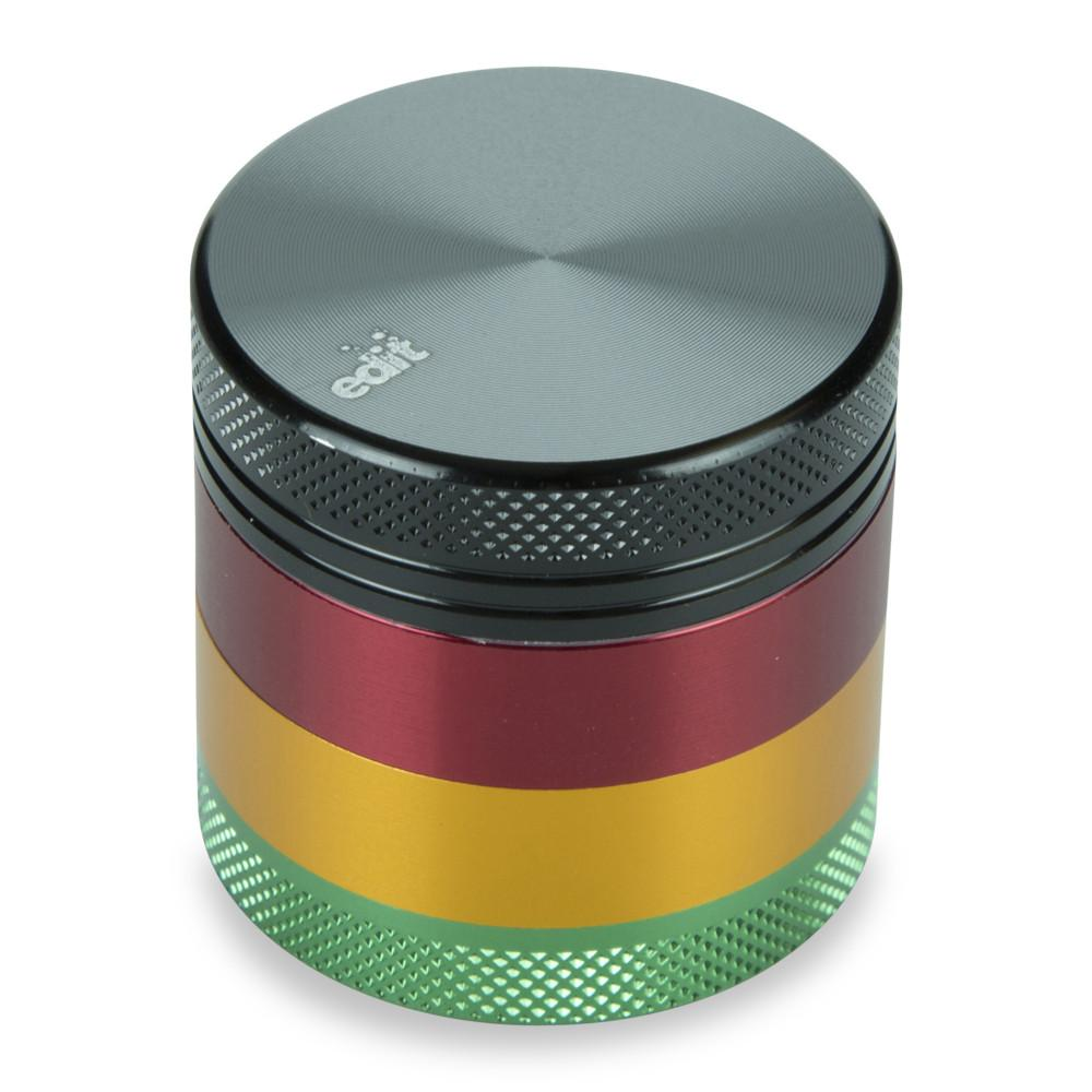 Grinder Aluminium Rasta Pocket | 4 Parties France