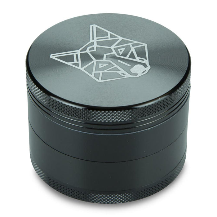 Grinder de Poche Aluminium The Wolf | 4 Parties France