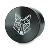 "Grinder Tamis Aluminium 2.5"" 4 Parties - The Wolf -"
