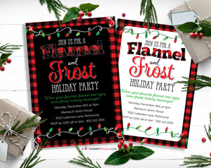 New Christmas Party Invitations in the Shop - My Favorite, Unique Holiday Christmas Party Themes