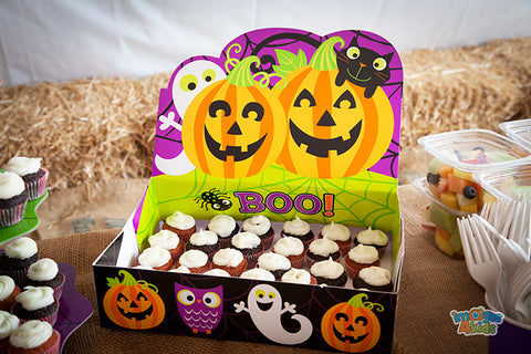 pumpkin party cupcakes