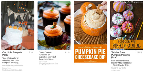 pumpkin party cake cupcakes pinterest
