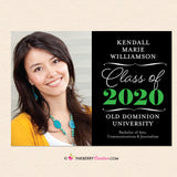 Big Year Elegant Script - Graduation Invitation or Announcement