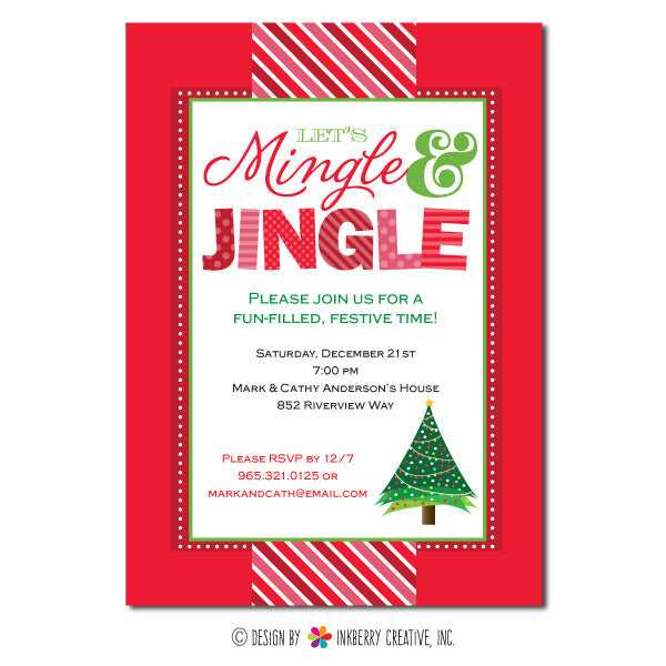 Mingle and Jingle Christmas Party