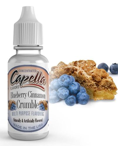 Capella Blueberry Cinnamon   Crumble - Flavour Chasers